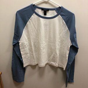 BUNDLE; Crop top long sleeve shirt (2)